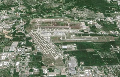 George Bush International Airport.