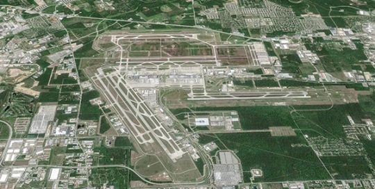 George Bush International Airport.