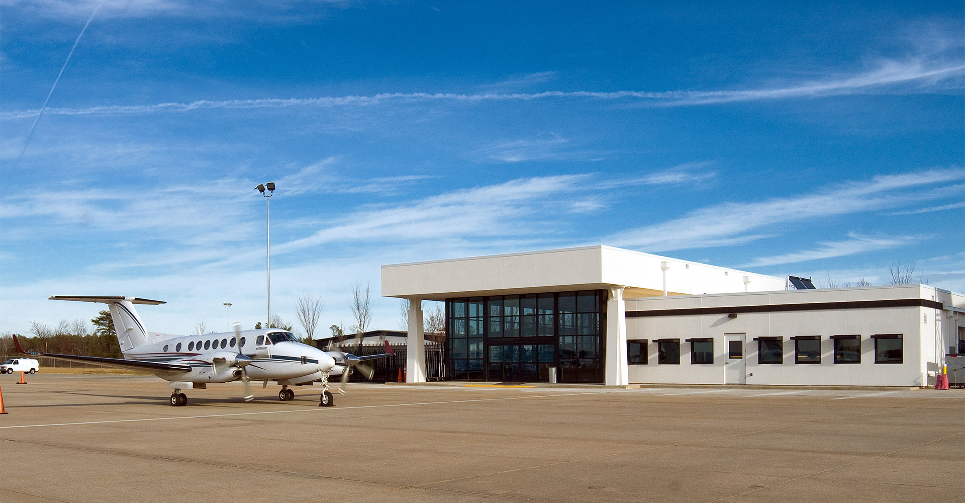 Exterior of Greenville GA Terminal.