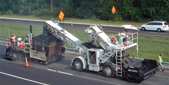 I-10 Milling and Resurfacing.