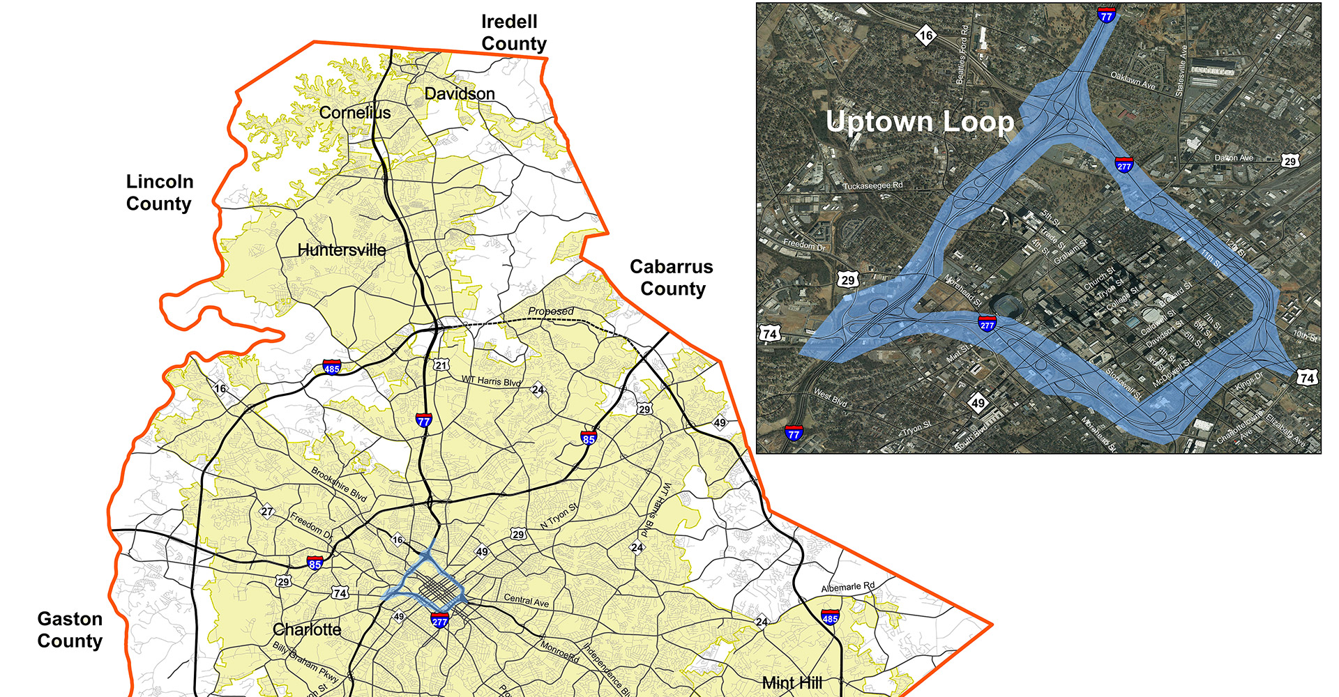 I-277 - I-77 Loop Strategy Study Graphic.