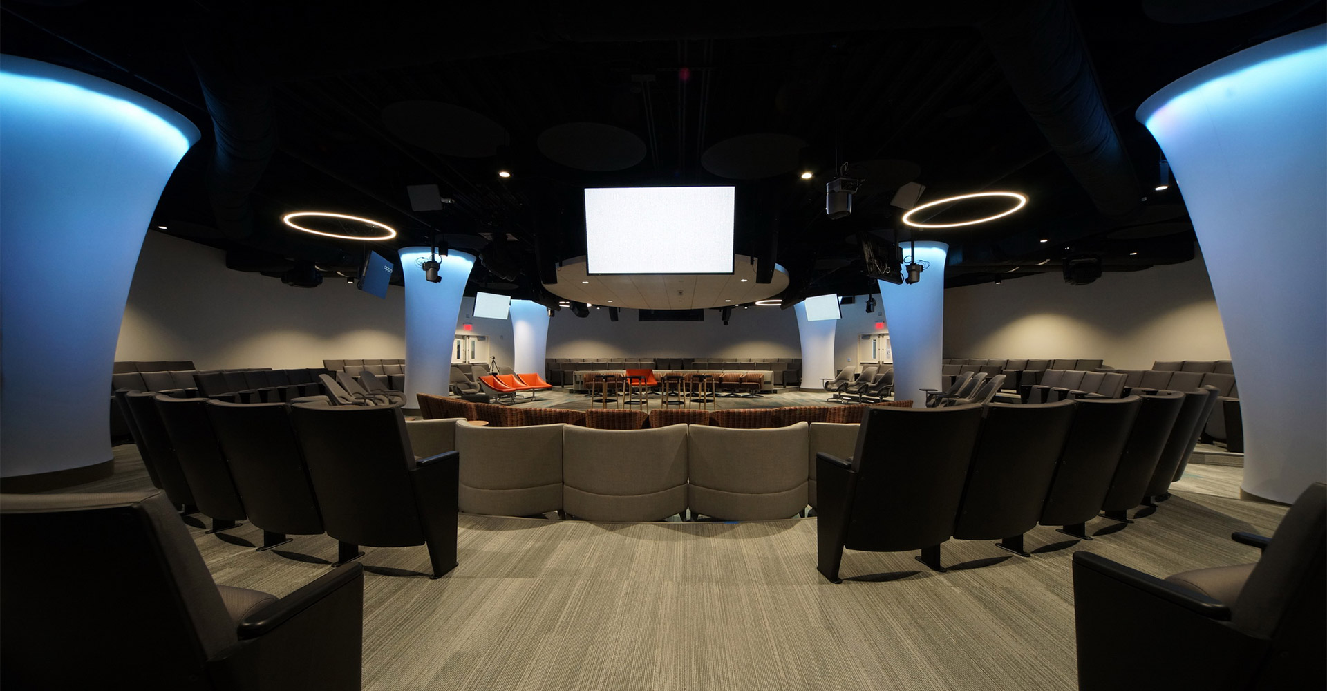 Media center at Innovation Center at Lake Nona.