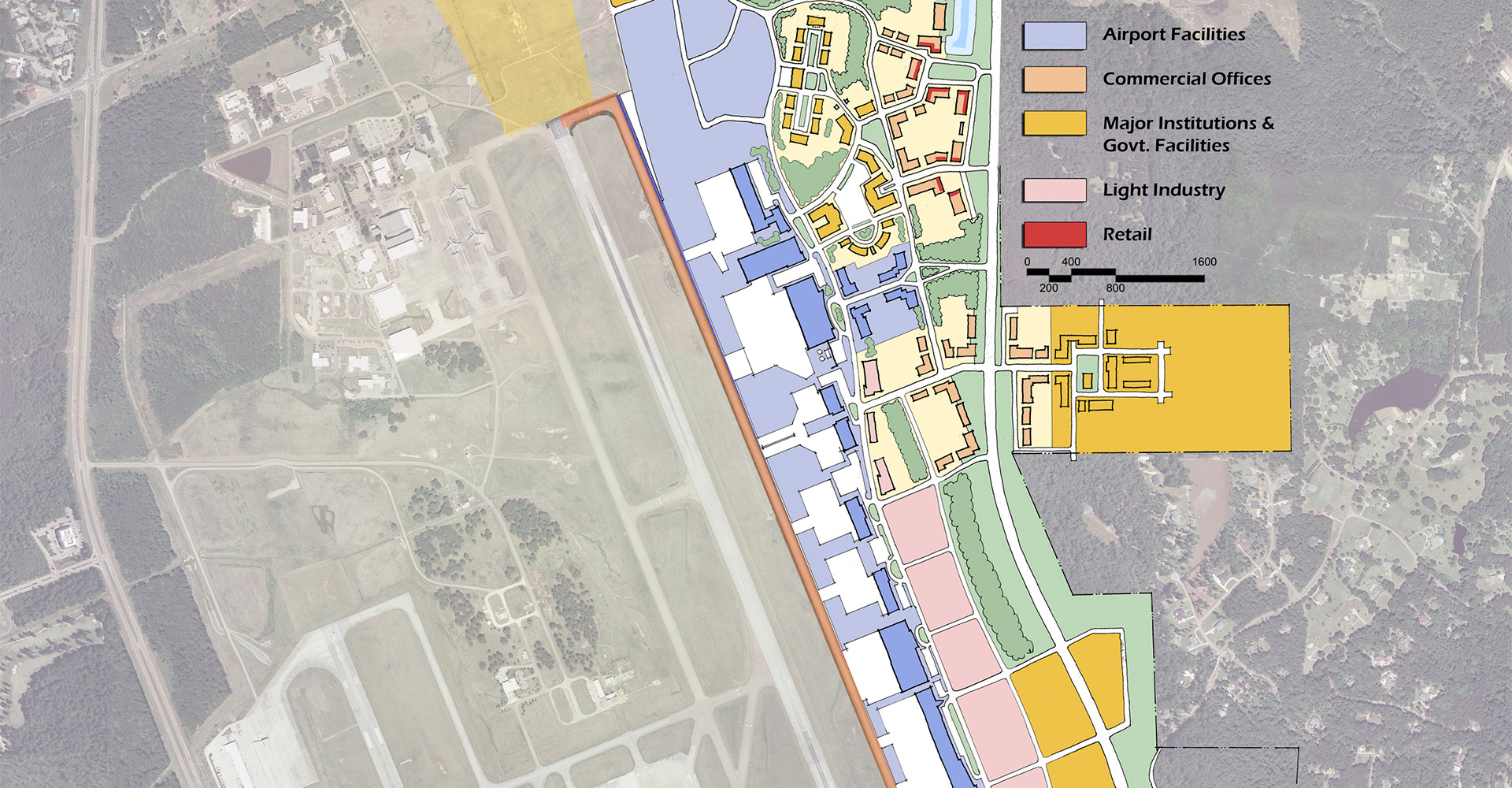 Jackson Evers International Airport Plan