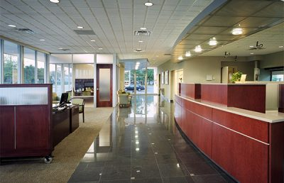 Interior of Jacksonville Bank - Ortega.