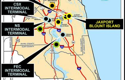 Jacksonville Port Terminals Multimodal Impact Study.