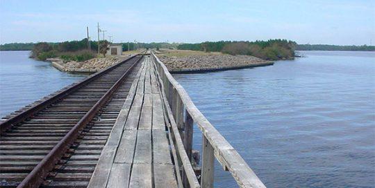 Jay Jay Railroad Bridge.