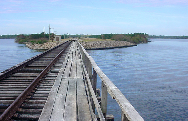 Jay Jay Railroad Bridge.