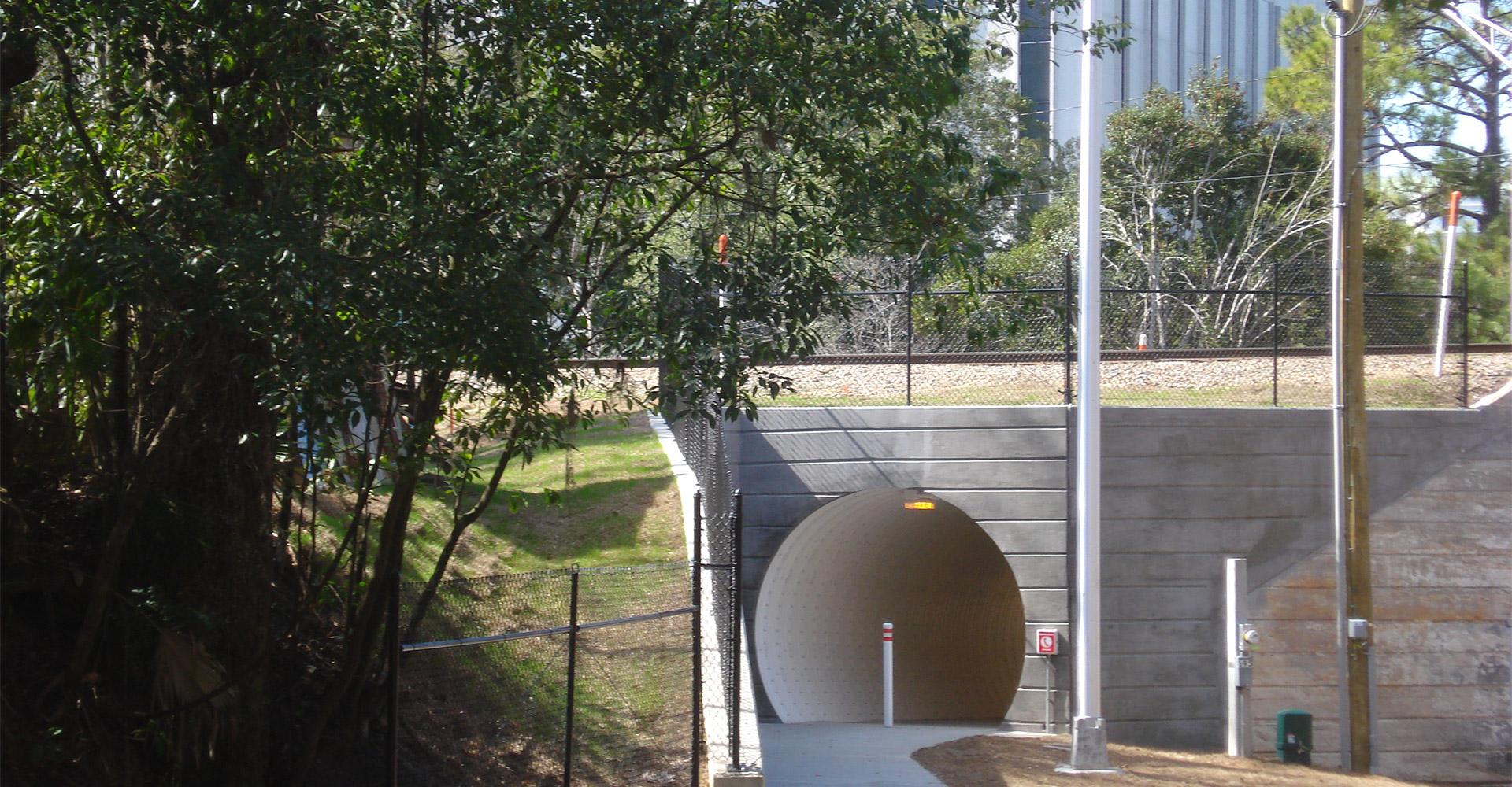 LaFayette Street Pedestrian Tunnel.