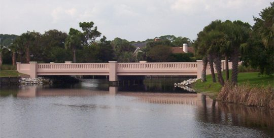 Lake Road/Rutile Drive Bridges.