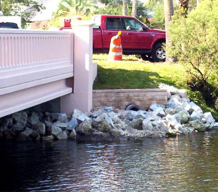 Lake Road/Rutile Drive Bridges.