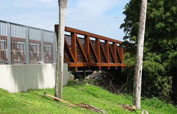Bridge on Mills Avenue.