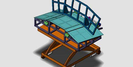 parachute insallation fixture.