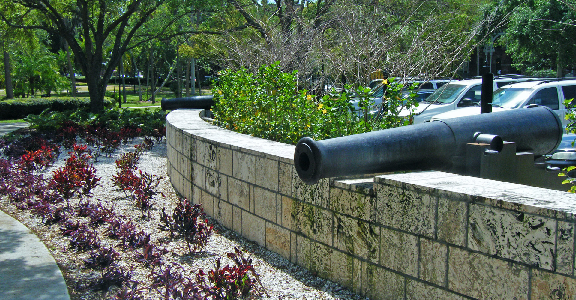 Cannon in Plant Park.