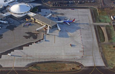 Spokane International Airport.