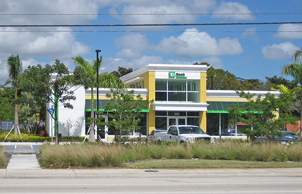 TD Bank Cypress Creek Branch.
