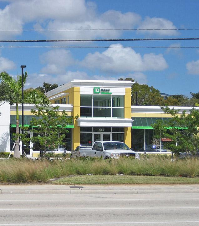 TD Bank Cypress Creek Branch.