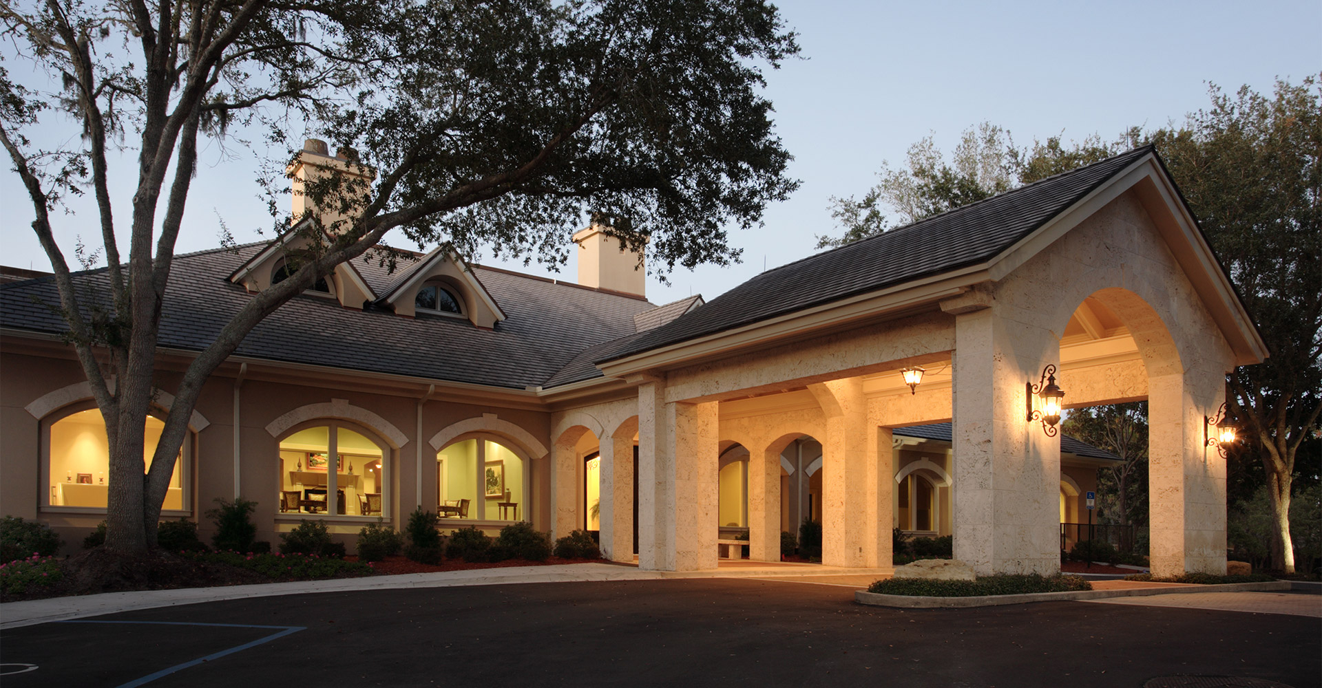 The Plantation Clubhouse.
