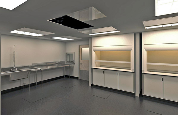 Tissue Processing Clean Rooms.