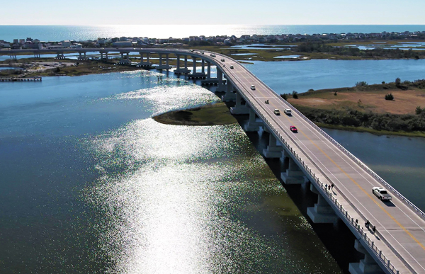 Topsail Island Bridge Replacement Featured Image.