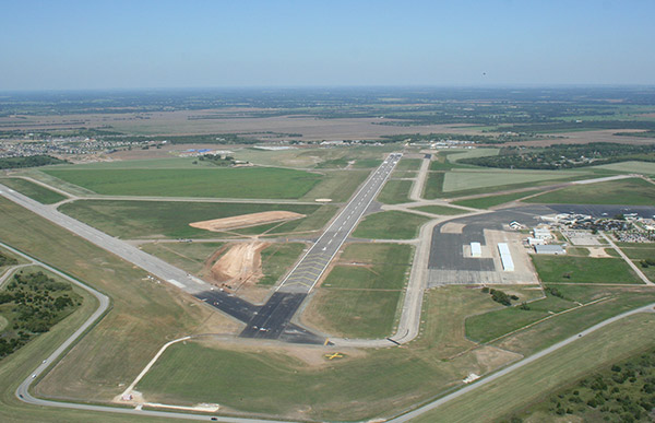 Waco Regional Airport.