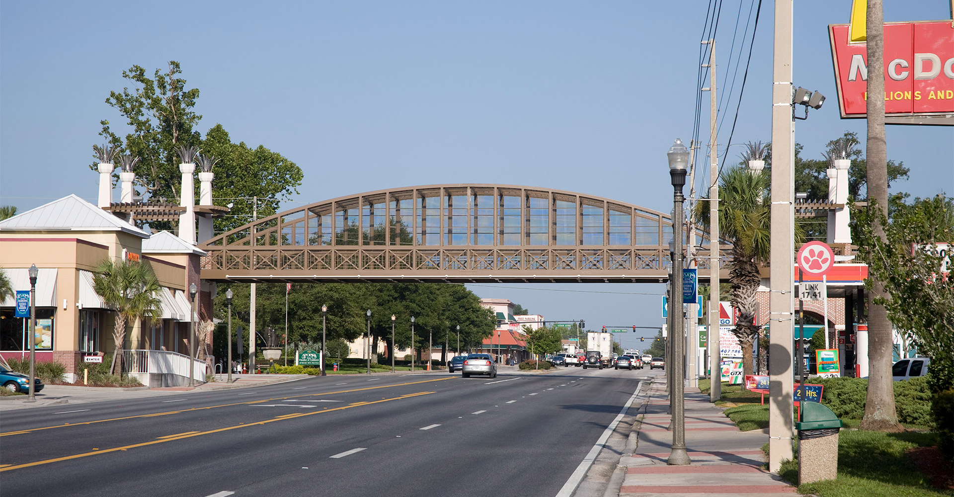 West Orange Trail and Bridge.