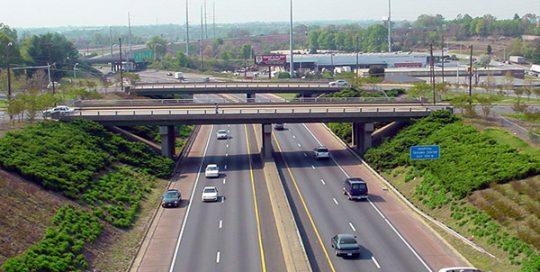 Winston-Salem North Carolina Bridge Aesthetics.