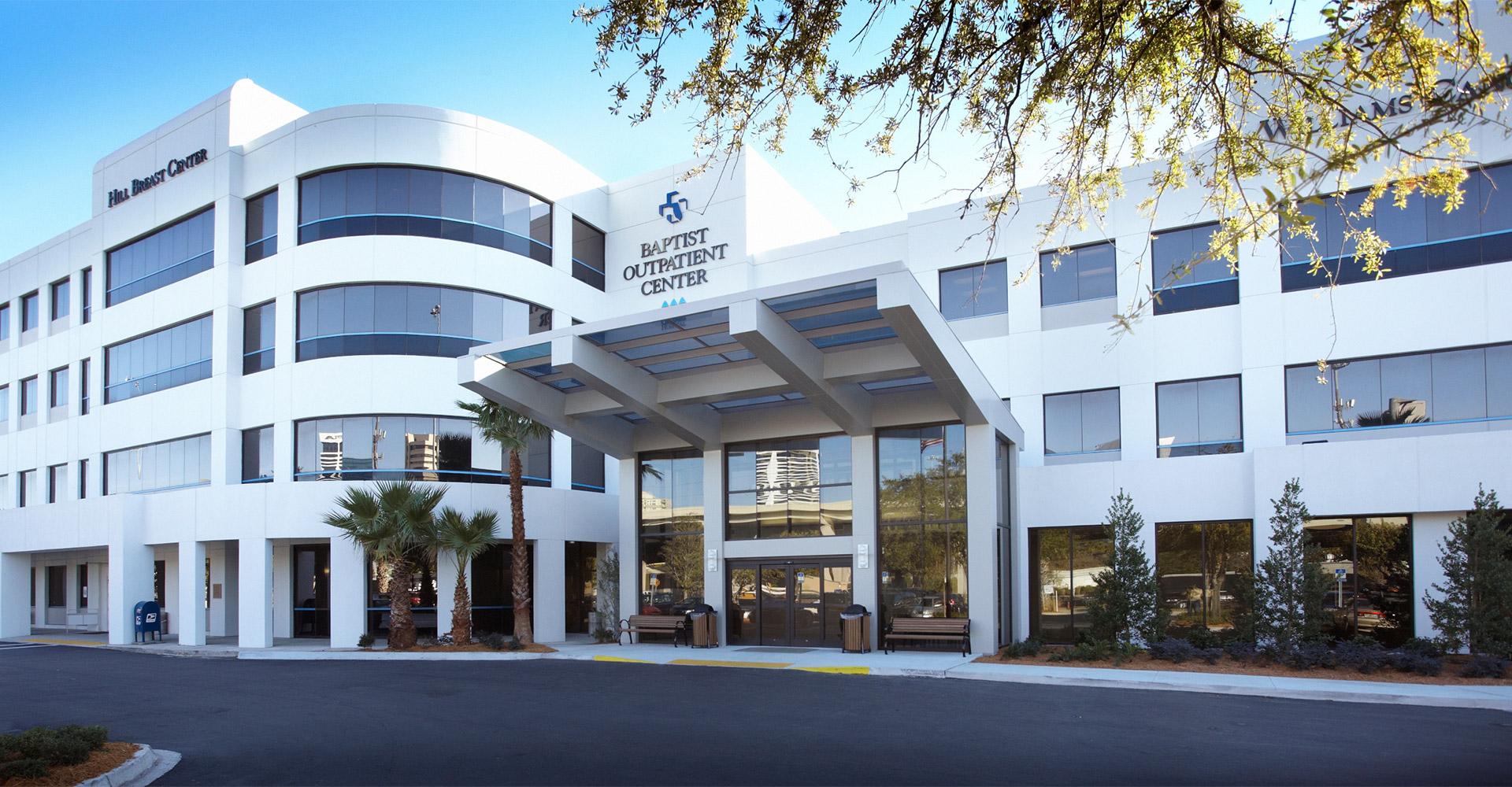 Baptist Medical Center Exterior.