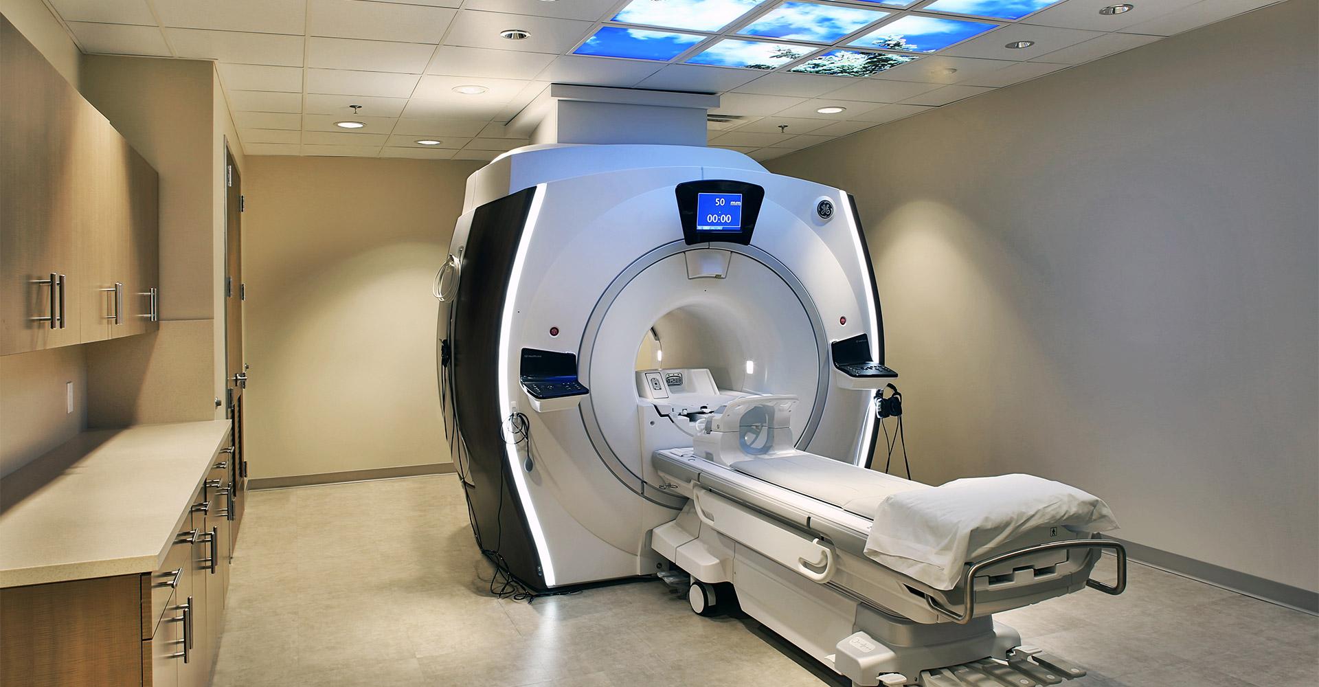 Borland Groover MRI Magnet Room.
