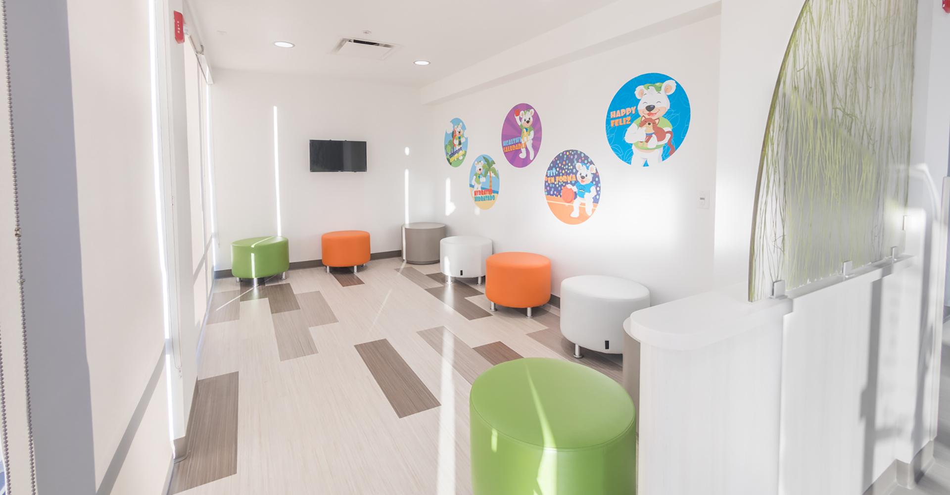 Primary Care Clinics Bear Room.