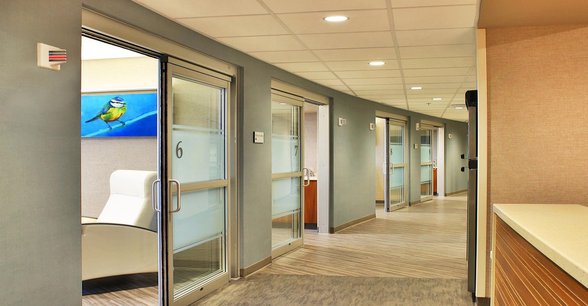 Mayo Office Hallway.