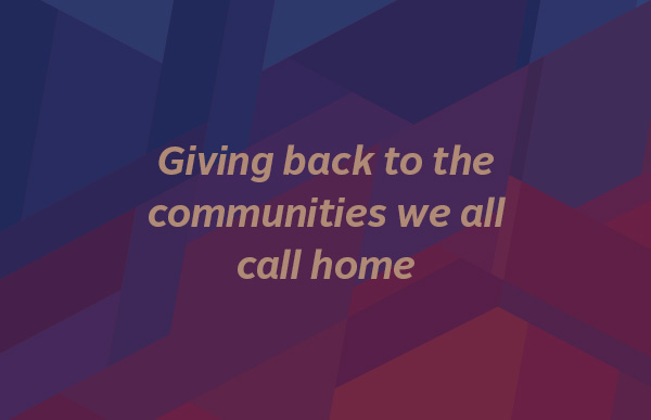 RS&H gives back to the communities we call home.