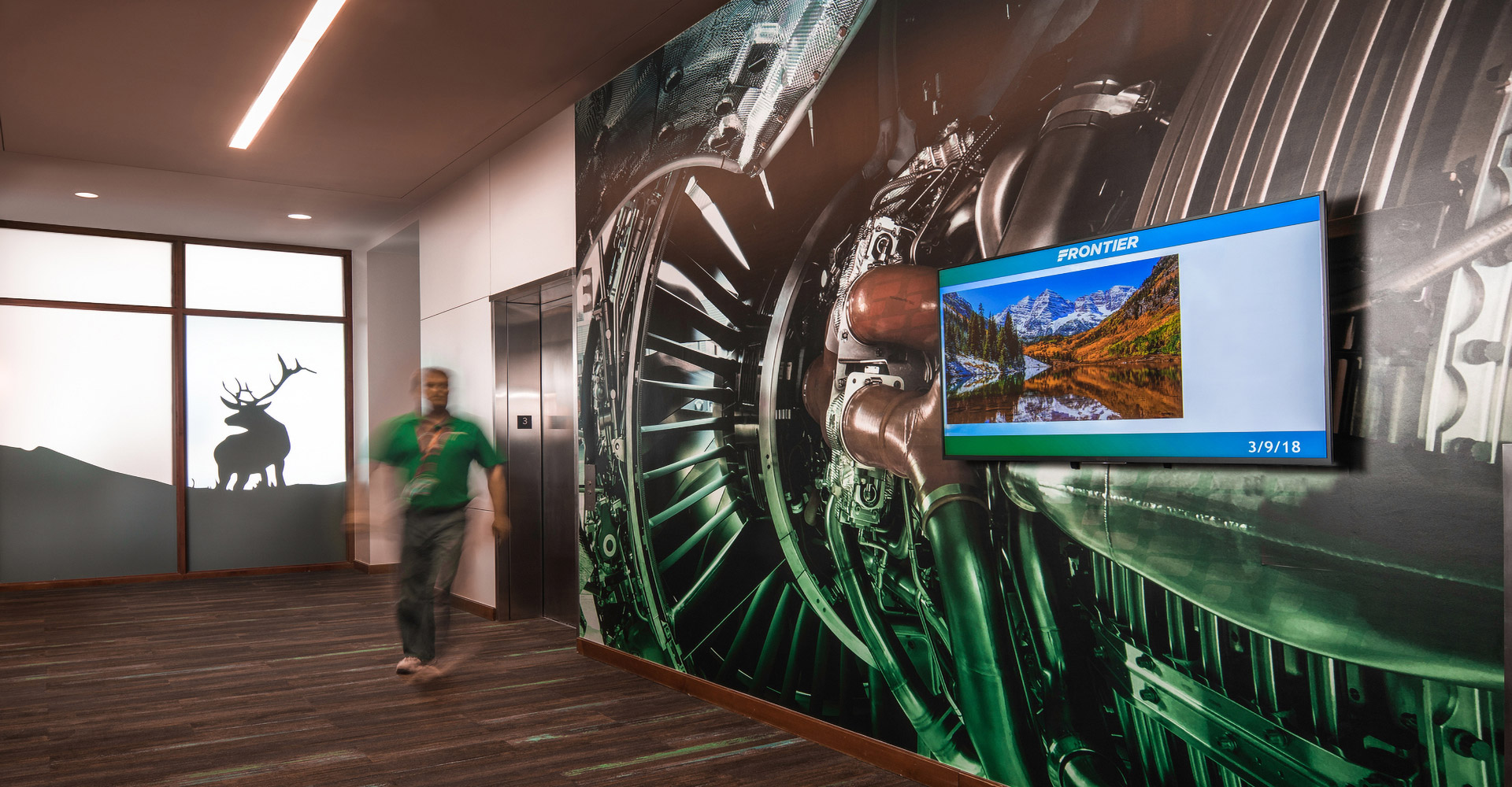 Frontier Airlines Headquarters.