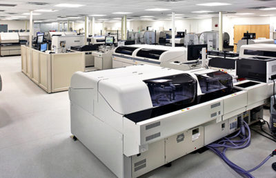 Baptist Health Automated Clinical Testing Laboratories Featured Image.
