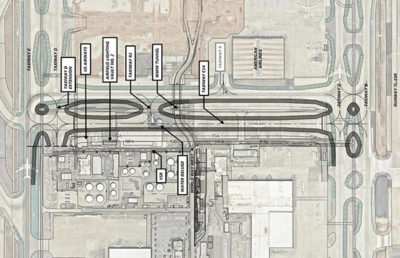 Taxiway Reconstruction Builds on LAX Relationship.
