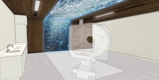 Mayo Clinic Destination Health MRI Suite.