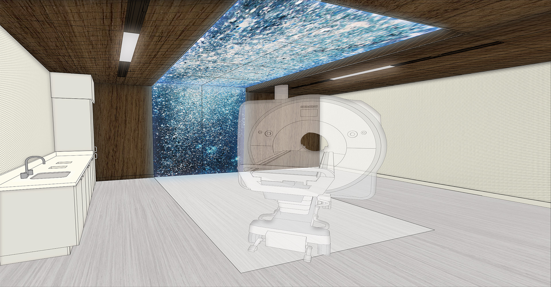 Mayo Clinic Destination Health MRI Suite.