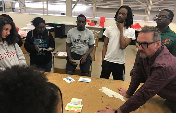 RS&H Design Director Shares Enthusiasm, Expertise with FAMU Students.