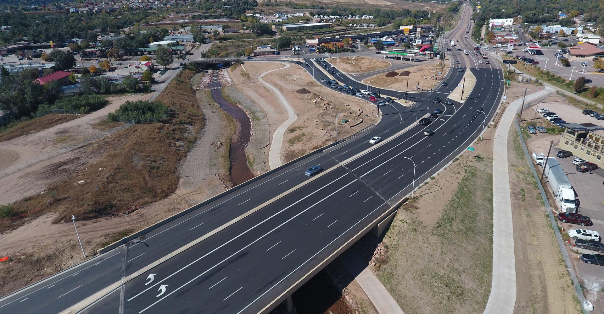 I-25/Cimarron Street (US 24) Interchange Design-Build.
