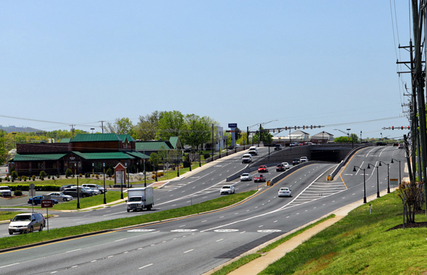 Route 29 and Rio Road Grade-Separated Intersection Featured Image.