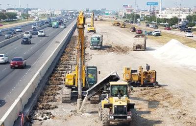 IH-45 Gulf Freeway Widening and Reconstruction.