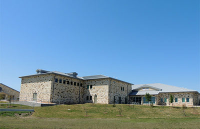 Exterior of Fort Hood Family Life Center (Circa 1995)
