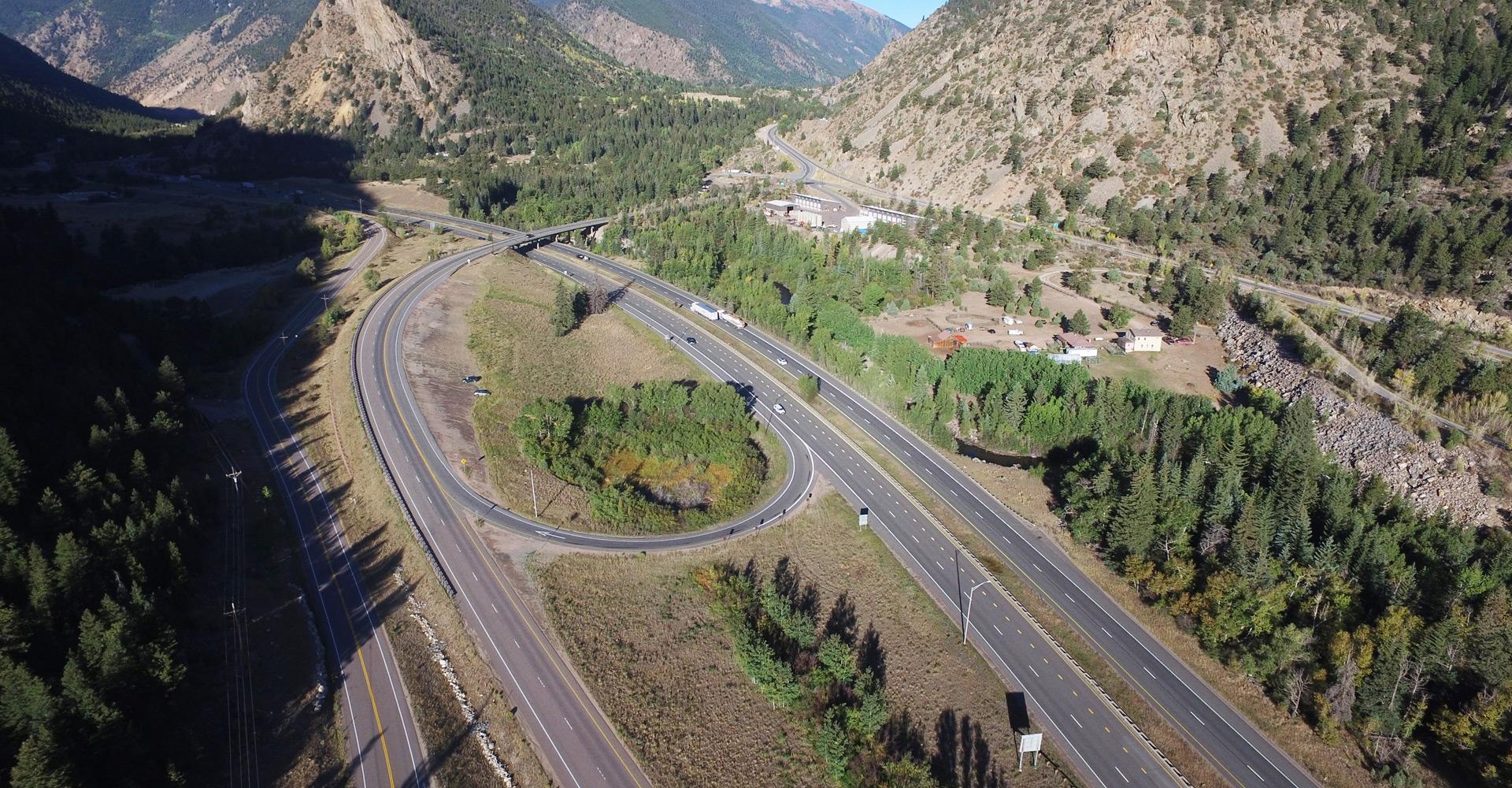I-70 Westbound Peak Period Shoulder Lane (PPSL).