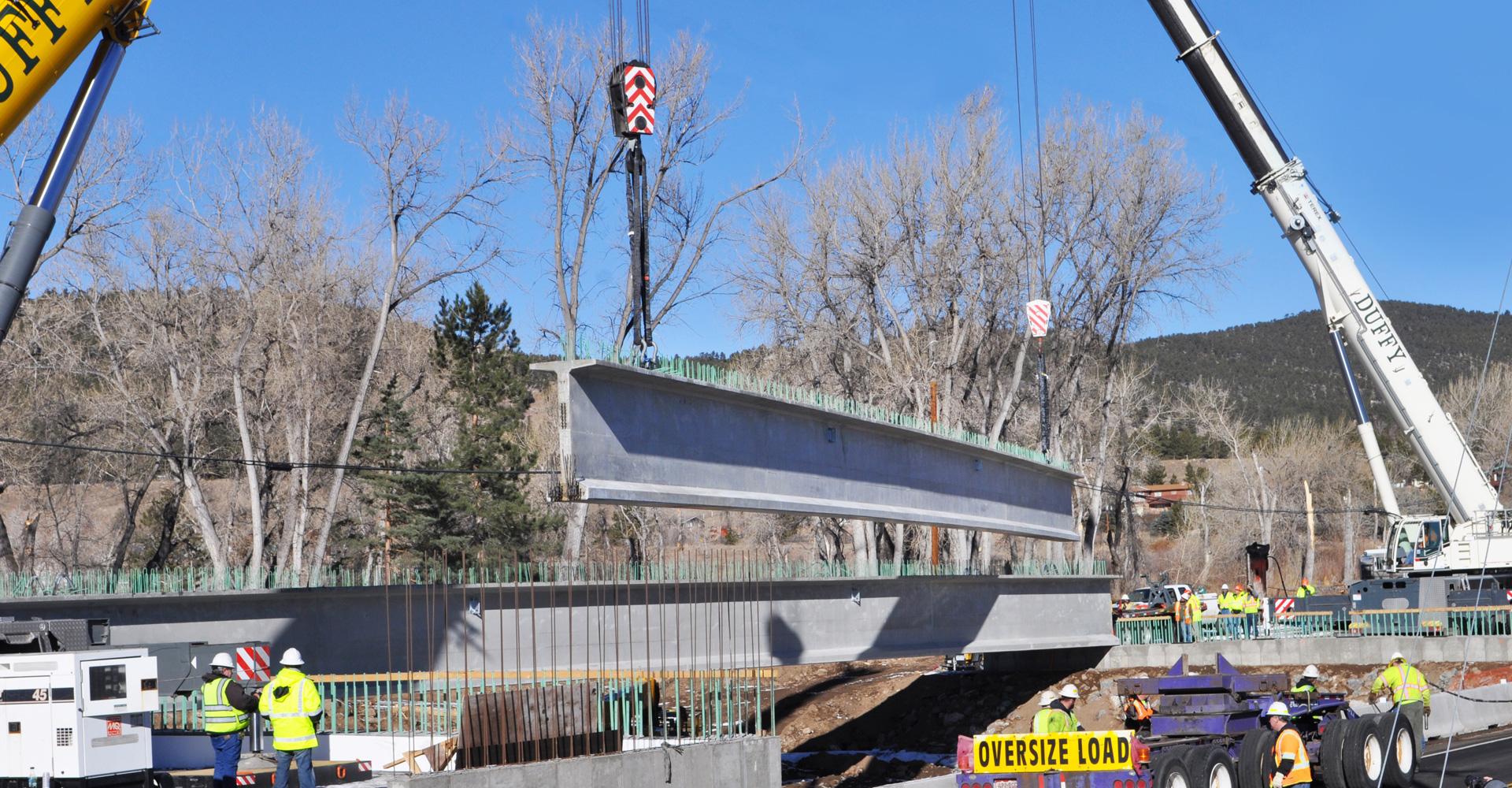 US 36 Boulder Bridges Flood Recovery.