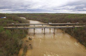 Bridge over the Rappahannock River.
