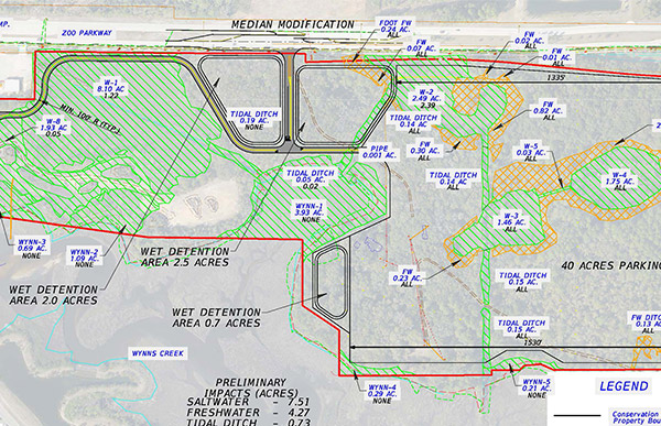 Dames Point Marine Terminal Expansion Permitting Featured Image.