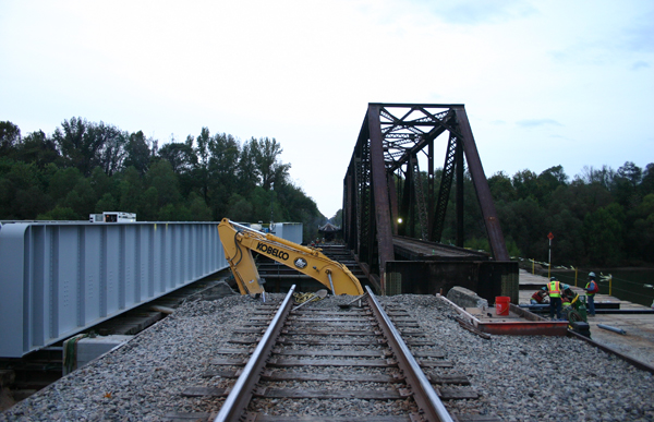 Congaree River Railroad Bridge Replacement Featured Images.